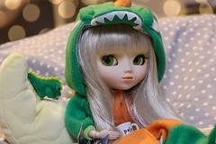 The little dinosaur: Doyeon🐉 (Juju DollPassion) Tags: blonde doyeon new stock 2005 pullippaja pullip