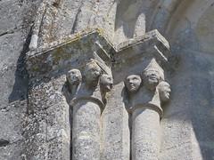 Eglise Saint-Georges (XIIe-XVe), Saint-Georges-des-Coteaux (17) (Yvette G.) Tags: églisesaintgeorges artroman charentemaritime 17 poitoucharentes architecture église