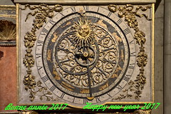 Happy new Year  2017 (Chemose) Tags: nouvel année horloge astronomique atronomical happynewyear bonneannée 2017 an year new