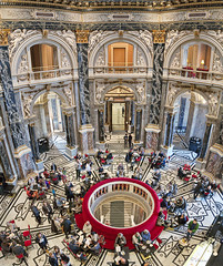 the art life (cherryspicks (on/off)) Tags: museum people architecture interior art vienna kunsthistorischesmuseum building symmetry travel