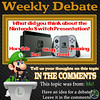 Weekly Debate- What Did You Think About the Nintendo Switch Presentation? (Luigi Fan) Tags: ninendo switch presentation joyconboyz