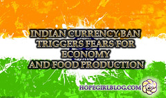 Indian currency ban triggers fears for economy and food production (HopeGirl587) Tags: ban currency economy fears food indian production triggers