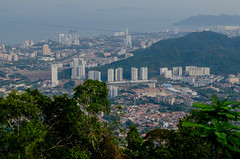 Penang from the top