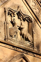 Hare pair (ccmercer1982) Tags: house country lapin stone masonry rabbits hare engraving engraved gatehouse hunting lodge