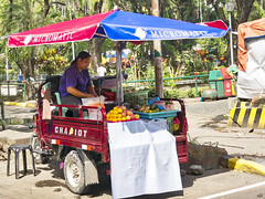 Chariot (Beegee49) Tags: chariot vehicle fruit seller bacolod city philippines