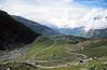 Ascending Rohtang Pass from Marhi (Niall Corbet) Tags: india himachalpradesh himalaya himalayas manali ley ladakh rohtang rohtangla rohtangpass cycle bicycle bike tour touring mandi road switchback mountain