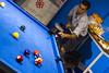 Preparandose (Alvimann) Tags: alvimann hombre hombres men man game juego jugar playing pool mesa table blue bluish azul azulado taco palo ball balls cara caras expression expresion expresar face faces rostro rostros mirada look looks miradas canon canon550d canont2i portrait retrato