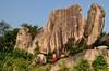 A village boy… (Joy lens) Tags: village india rural nature rock stone west bengal boy childhood sky blue