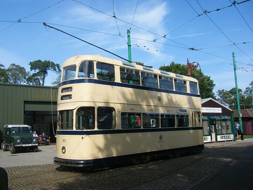 Sheffield Tram No. 513.