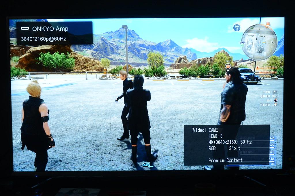 PS4 Pro 2160P RGB