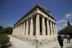 Athens, Greece, Hephaestion (manjanest) Tags: athens greece hephaestion greektemple templeofhephaestus templeofthegodoffire blacksmithgod