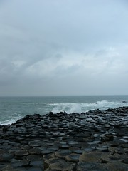 Into the Irish Sea (2) (Michael JasonSmith) Tags: giantscauseway basalt rock sea
