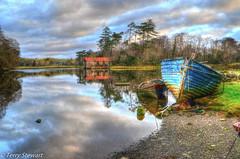 Reflections (rtstewart000) Tags: westport quay ireland irish water sea boat reflections sky colour trees fishing atlantic bay clewbay vividandstriking legacy