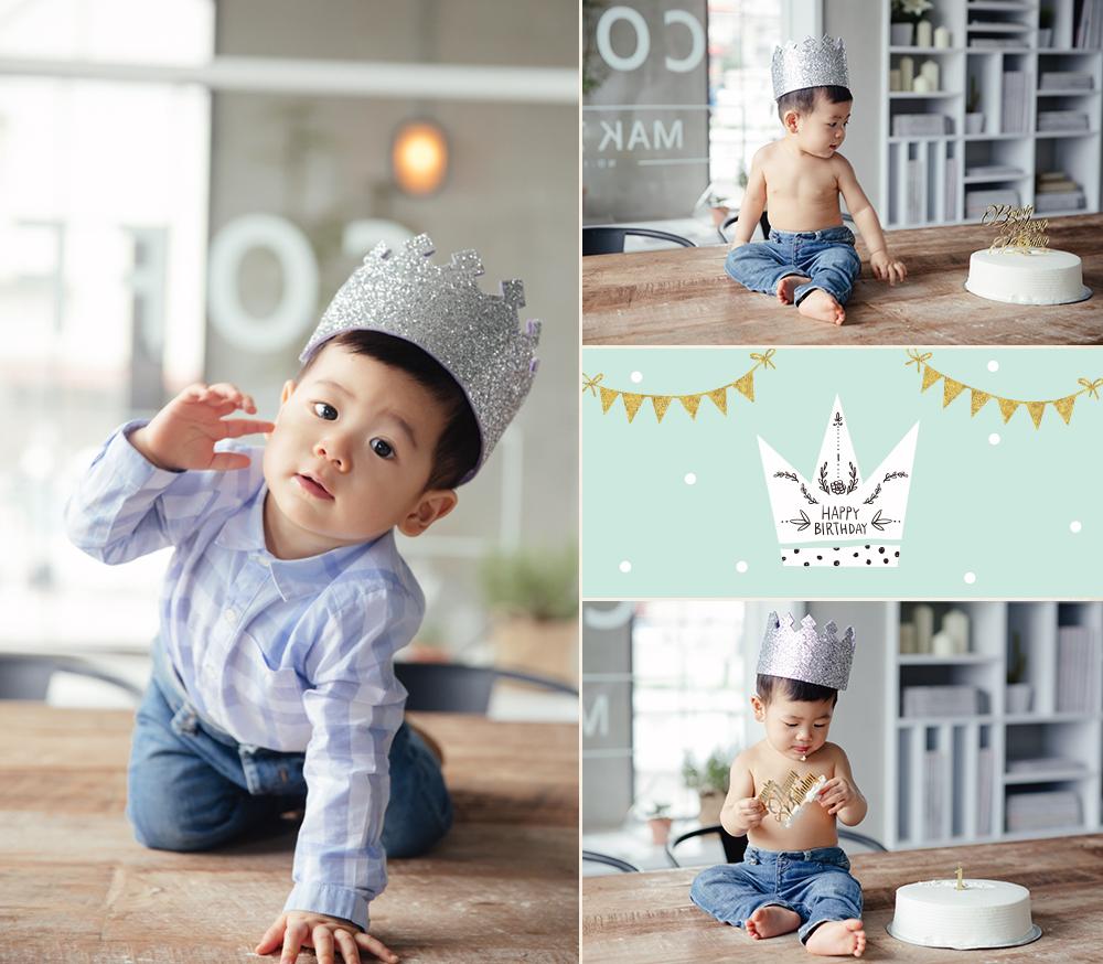 Cake Smash1歲寶寶嬰兒週歲生日寫真