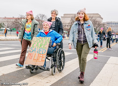 """HillelSteinbergPhoto-112.jpg (hillels) Tags: woman march protest feminist feminism washington dc trump president gay lesbian rally rallies freedom grassroots """"linda sarsour"""" """"gloria steinem"""" """"michael jones"""" democracy american healthcare education pay"""" movement resistance van halen womens social justice equal rights pussy hat michael moore"""