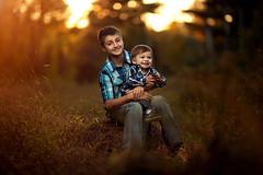My Two Boys (Joseph K Photography) Tags: canon color children child cute strobist sun sunset sunlight flare fall newyork natural natty nature light photo photography photos portrait people portraiture pcb