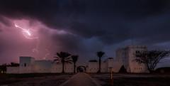 thunderstorm (Steven-ch) Tags: africa castle gate etoshanationalpark eos6d bluehour travel namibia clouds lightning namutoniresort thunderstorm canon termitemound namibiawildliferesorts fort namutoni oshikotoregion na