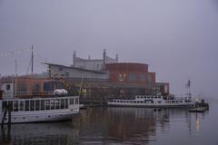 Foggy Afternoon (Rudi Pauwels) Tags: göteborg gothenburg sverige sweden schweden operahouse operan operahuset lillabommen gothiariver götaälven fogg foggyafternoon saturday saturdayafternoon 2017 tamron 18270mm tamron18270mm nikon d7100 nikond7100 ruby3