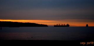 fall sunset English Bay...explore