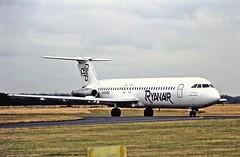 EI-BSZ BAC1-11 Ryanair CVT 31-07-89 (cvtperson) Tags: eibsz bac 111500 ryanair coventry cvt egbe