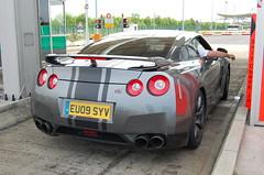Nissan GT-R (D's Carspotting) Tags: nissan gtr france coquelles calais grey 20100613 eu09syv le mans 2010 lm10 lm2010