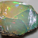 Hydrophane opal (precious opal) dried out (Tertiary; Ethiopia) 7