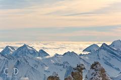 Winter in den Bergen / Hintertuxer Gletscher (cade.rina) Tags: gletscher tux outdoor view mountains alps tirol austria skiing sun snow zillertal