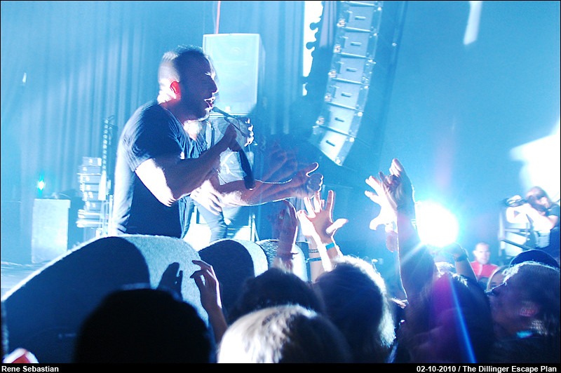Dillinger Escape Plan @ Melkweg