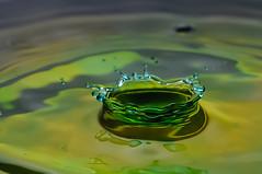 Droplet 4 (Tahsan_Kabyo) Tags: water 50mm prime nikon flash droplet concept speedlight bangladesh d90