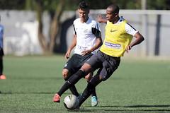 Gabriel Matheus e Higor (Santos Futebol Clube) Tags: ct santos fc rei sub17 treino pel