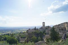 Assisi panoramica (Daniela Meacci) Tags: sky panorama landscape view cielo panoramica paesaggi assisi paesaggio interno7 landasce