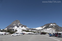 "Logan Pass Parking Lot • <a style=""font-size:0.8em;"" href=""http://www.flickr.com/photos/63501323@N07/18719425891/"" target=""_blank"">View on Flickr</a>"