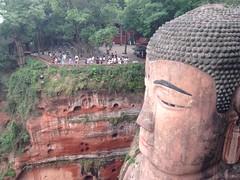 Le bouddha géant, Leshan