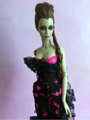 Confection (Sybarite Cameo) (Nina-chan) Tags: doll cameo gown exclusive truffles genx sybarite pfdf pfdf215 pariffashiondollfestival genxsuperdoll
