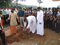 "AISAT Engineering College, Kerala - The 'Billion Trees Project' is an ambitious initiative to plant one billion trees in India being taken up by GreenVein. org. • <a style=""font-size:0.8em;"" href=""http://www.flickr.com/photos/98005749@N06/18920624599/"" target=""_blank"">View on Flickr</a>"