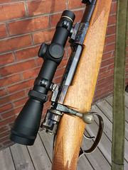 Custom Brno model 21H in 7x57 -- right side action, Leupold VX-2 scope (secretazure) Tags: 1948 germany gun belgium scope brno rings sling czechrepublic guns 12 woodstock receiver fn trigger firearms serialnumber extractor 7mm stockwood oilfinish mauser madeingermany leupold fabriquenationale sporter madeinbelgium bolthandle madeinczechrepublic 7mmmauser walnutstock leathersling 7x57 riflebolt mauserreceiver mauserstock mauserbolt mauserbolthandle mauserserialnumber forgedreceiver woodwalnut handrubbedoilfinish lowlustreoilfinish brno21triggerguard brno21 brno21stock smallringmauser mauserclawextractor mauseraftermarketsafety mauserboltshroud mauserscopebase m98mauserbolt mausersporter daytontraistermarkiisafety levyssling mauserboltknob leupoldvx2 leupoldvx214x20scope leupoldstdlowrings vintageredfieldscopebase colourcasehardening oskarkob ralfmartini martinigunmakers schaftol