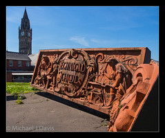 Technical School (MikeJDavis) Tags: brick ceramic artwork terracotta rochdale towncentre technicalschool