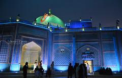 Blue Mosque Mazar Sharif Afghanistan (naimatrawan) Tags: blue afghanistan colors photography muslim mosque ali shia talib abu ramadan rawan naimat afghanistanyouneversee