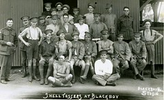 Shell Tossers at Blackboy - WW1 (Aussie~mobs) Tags: camp training army military soldiers artillery ww1 westernaustralia brigade aif blackboyhill larrikin