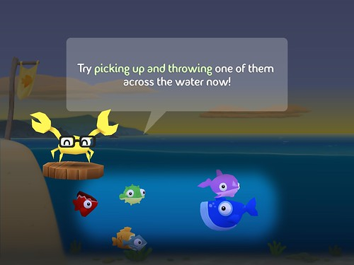 Fish Out of Water Tutorial: screenshots, UI