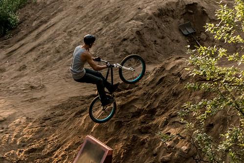 Dirt jumping