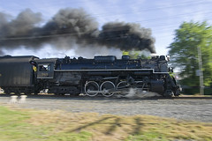 Power of the Berkshire (Stephen Gardiner) Tags: newyork pentax trains steam berkshire railways norfolksouthern nickelplateroad steamlocomotive 2015 depew 765 nickelplateroad765 k20d fortwaynerailroadhistoricalsociety 21stcenturysteam southerntierline