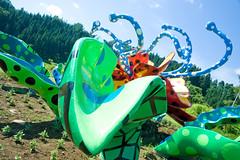 (mayor_of_clutch0625) Tags: summer vacation sky art japan nikon july  triennale niigata   summervacation kusama yayoikusama echigo 7  kusamayayoi           d700   2015 tumaari
