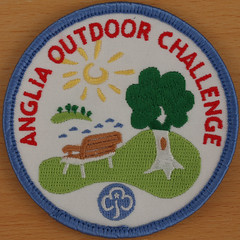 ANGLIA OUTDOOR CHALLENGE (Leo Reynolds) Tags: girl badge squaredcircle guide patch girlguiding xleol30x sqset117 xxx2015xxx
