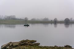Weurt-126 (stevefge) Tags: grindgat landscape weurt boats people mist winter water nederland netherlands nederlandvandaag nl gelderland reflectyourworld reflections