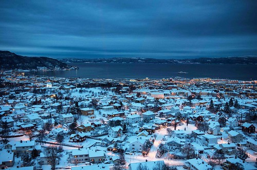 Trondheim from above I