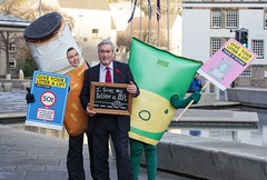 Backing Keep Scotland Beautiful's Anti Roadside Litter campaign