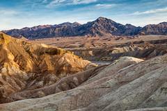 The Naked Land (Kirk Lougheed) Tags: california deathvalley deathvalleynationalpark usa unitedstates zabriskie zabriskiepoint badlands landscape mountain nationalpark outdoor sunrise