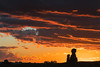 Sunset at Arches NP (Elainе) Tags: moab archesnp silhouette red