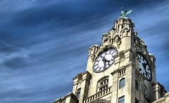 Liver Building (ihughes22) Tags: ihughes22 nikon liverpool liverbuilding pierhead liverbirds scouse clock mersey